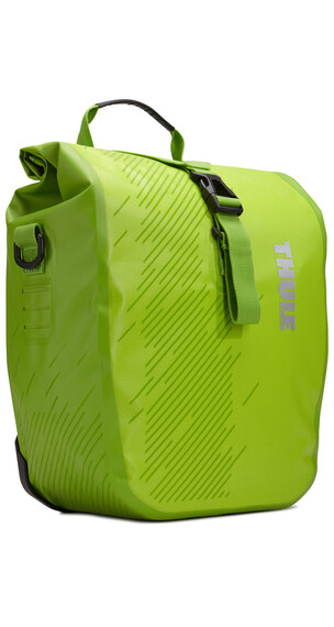 Thule Pack'n Pedal Shield Pannier S Pair Chartreuse